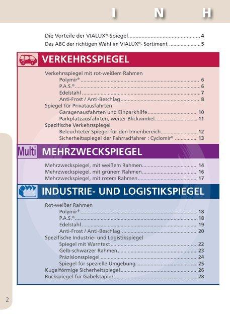 Spezifische Industrie- und Logistikspiegel - Spiegel zur Sicherheit ...