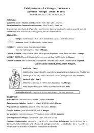 feuille d'infos du 1er au 22 avril 2012 - Morges - Cath-vd.ch