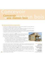 Concevoir une maison bois - Région Poitou-Charentes