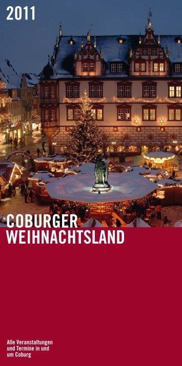 coburger Weihnachtsland 2011 - Stadt Coburg