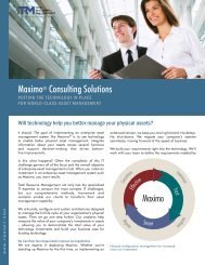 Maximo® Consulting Solutions - Total Resource Management