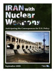 Iran with Nuclear Weapons - Institute for Foreign Policy Analysis