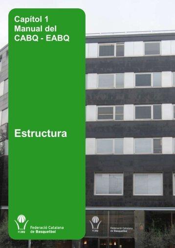 Estructura - Federació Catalana de Basquetbol