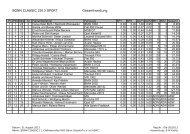 BONN CLASSIC 2013 SPORT Gesamtwertung - MSC 1931 Bonn ...