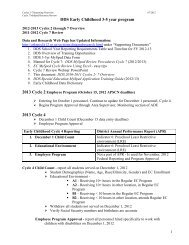 DDS Cycles 2-7 Overview 2012-13 - ADE Special Education