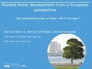 EU Timber Supply - Nabuurs - College of Natural Resources