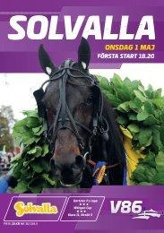 ONSDAG 1 MAJ - Solvalla