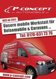 Tel: 0170-631 73 76 Unsere mobile Werkstatt für ... - P-concept