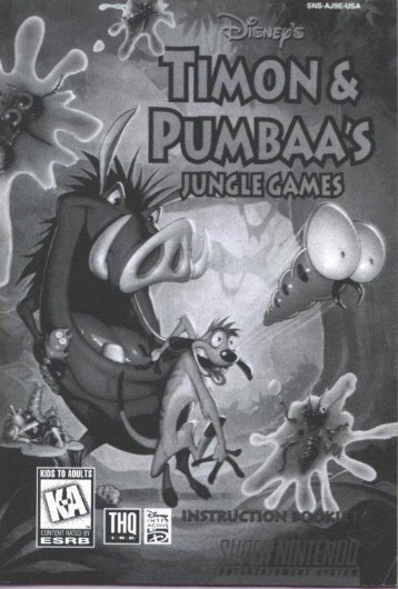 Timon & Pumbaa's Jungle Games (U).pdf - Roms4Droid