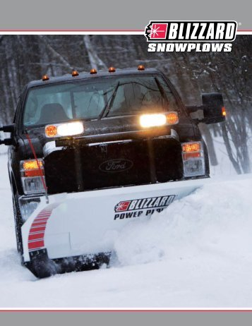 Snow removal brochure blizzard snowplows blizzard straight and wing plows 2011 catalog stonebrooke sciox Images
