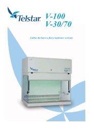 Serie V-100/V30-70 cappe da laboratorio a flusso ... - Seneco S.r.l.