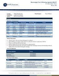 Meeting Minutes FINAL_MS Tier II_4-5 Dec 2012 - Smith | Associates