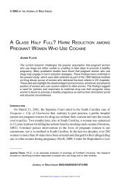 a glass half full? harm reduction among pregnant women who use ...
