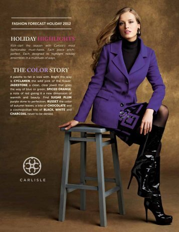 THE COLOR STORY - Carlisle Collection