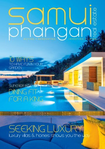 Samui Phangan Real Estate Magazine December-January
