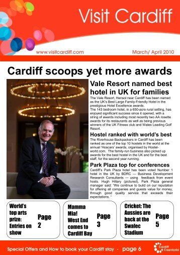 100309 MAr Apr Consumer Final - Visit Cardiff