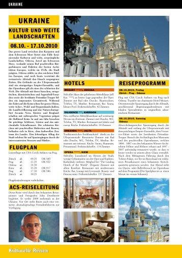 UKRAINE - ACS-Reisen