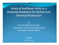 Study of Sunflower Hulls as a Potential Feedstock for Biofuel and ...