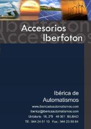 Descargar datos del producto en formato PDF - Iberica de ...