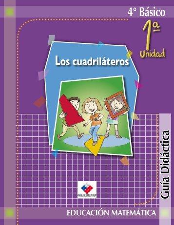 Los cuadriláteros - Clases Particulares de Matemáticas