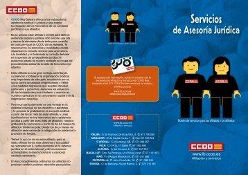 Servicios - CCOO