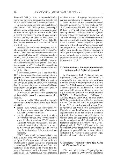 acta ordinis fratrumminorum - OFM