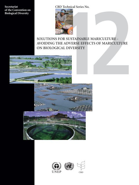 Solutions for sustainable mariculture - Convention on Biological ...
