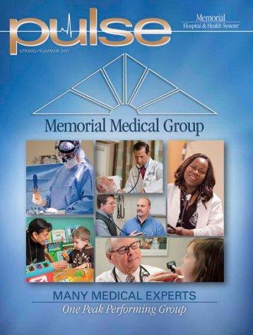 Spring 2011 - Memorial Health System