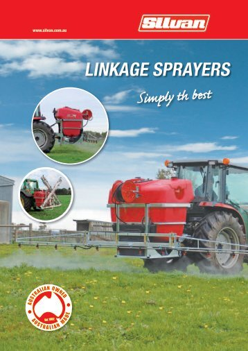 LINKAGE SPRAYERS - Silvan Australia