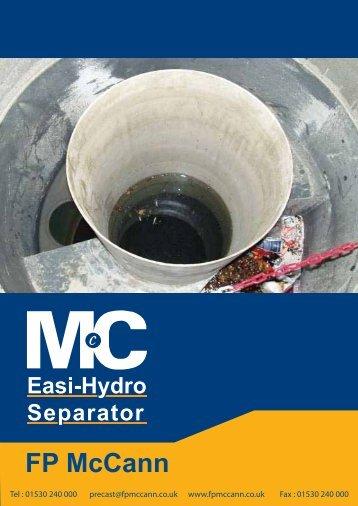Easi-Hydro Installation guide - FP McCann Ltd