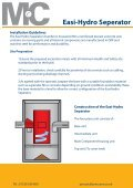 Easi-Hydro Installation guide - FP McCann Ltd - Page 2