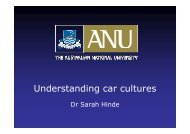 Understanding car cultures - New Zealand Centre for Sustainable ...
