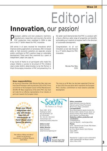 3 Innovation - Solvay Plastics