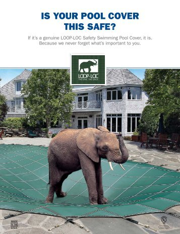 IS YOUR POOL COVER THIS SAFE? - Crystal Pool and Spa Store is ...