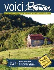 voici_bromont_vo l15_no2.pdf - Ville de Bromont