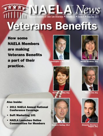 Veterans Benefits - National Academy of Elder Law Attorneys