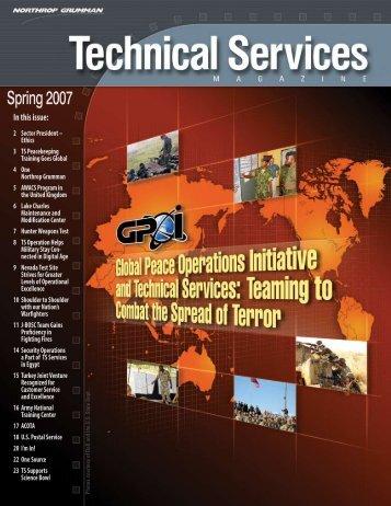 Technical Services Magazine • Spring 2007 - Northrop Grumman ...