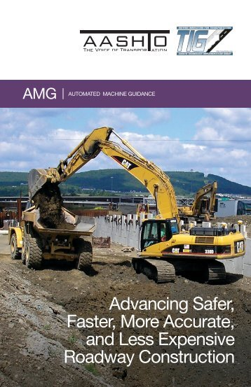 TIG AMG Brochure - AASHTO Technology Implementation Group