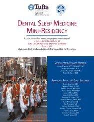 dental sleep medicine mini-residency - American Academy of ...