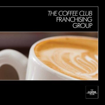 The Coffee Club Franchising group - solutions franchising group