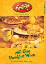The Perfect Mix - Smitty's Restaurant Edmonton   Home Page