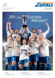 """Europa- Meister!"""" """"Wir sind - Friedrich Zufall GmbH & Co. KG"""