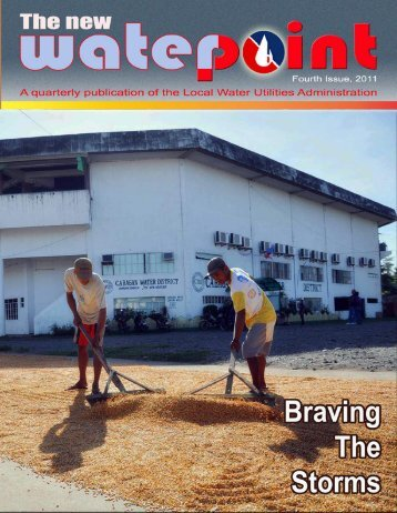 WATERPOINT October-December 2011 Issue - LWUA