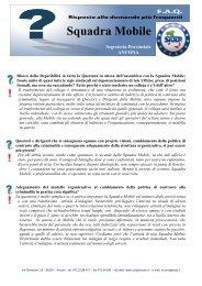 Squadra Mobile - Sindacato Italiano Unitario Lavoratori Polizia