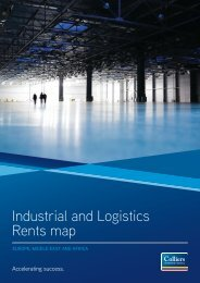 EMEA Industrial and Logistics Rents Map 2011 - Colliers