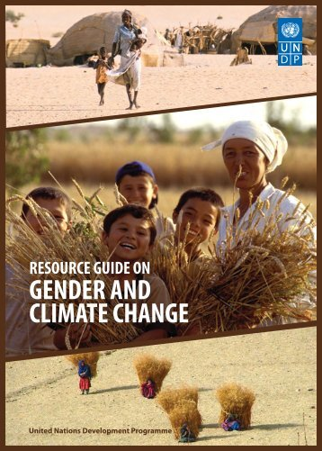 Resource guide on gender and climate change