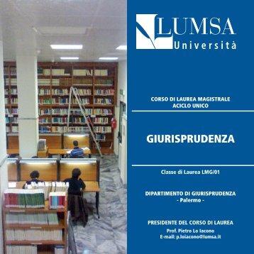 Giurisprudenza LMG/01 A.A. 2012-2013, Palermo - Lumsa