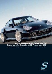 Basis Porsche 996 Turbo und GT2 Based on the Porsche ... - Sportec