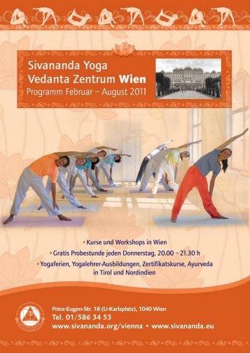 Ausbildungen in Vrindavan, Nordindien - Sivananda Yoga