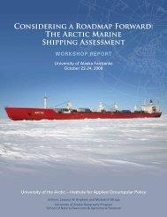 Considering a Roadmap Forward - Scenarios Network for Alaska ...